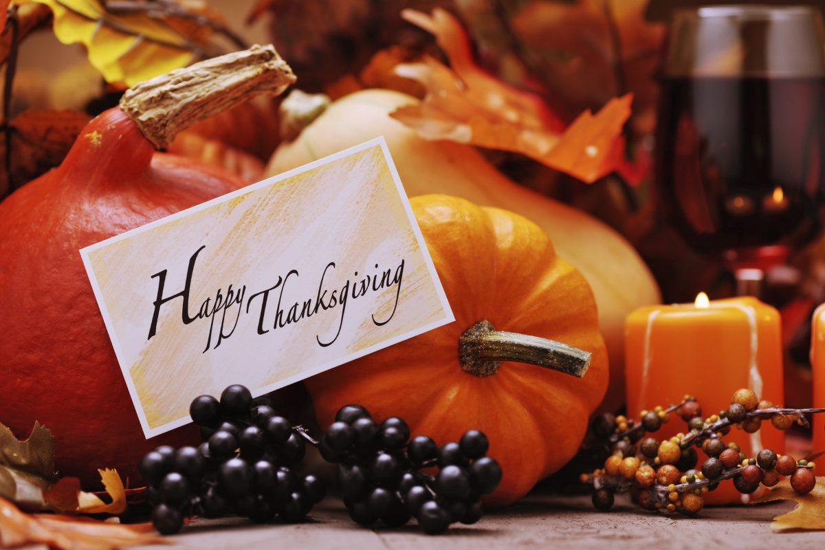 Thanksgiving Sobriety